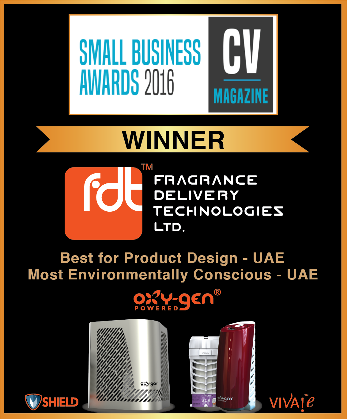 FDT wins Small Business Award