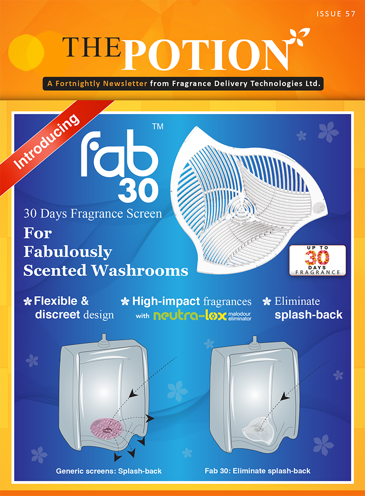 Introducing Fab 30 Fragrance Screens
