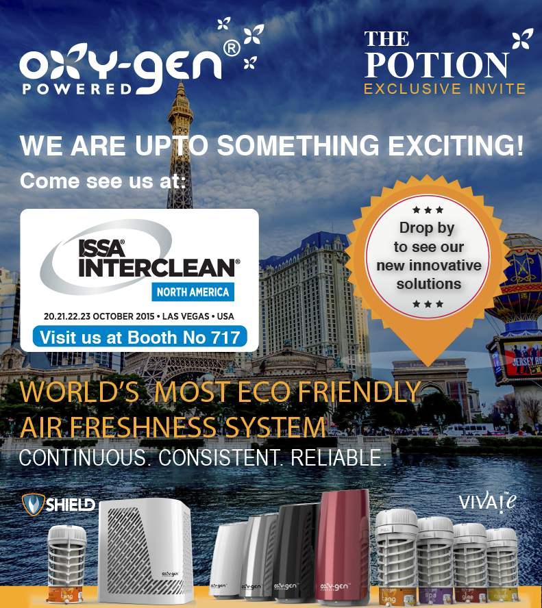Visit us at ISSA Interclean Las Vegas