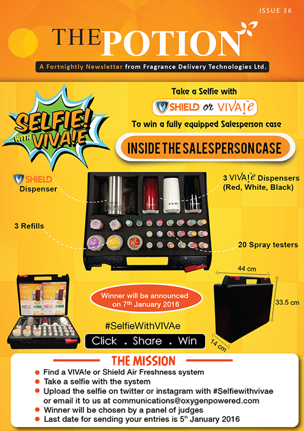#SelfiewithVivae Contest- A peek inside the salesperson case