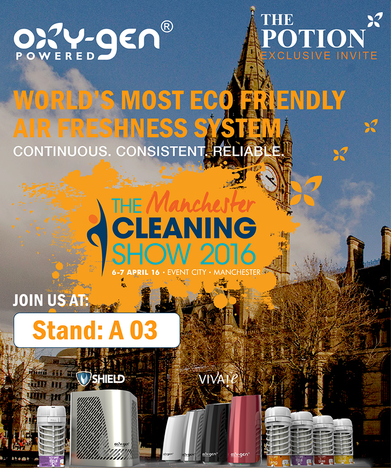 Manchester Cleaning Show Invite