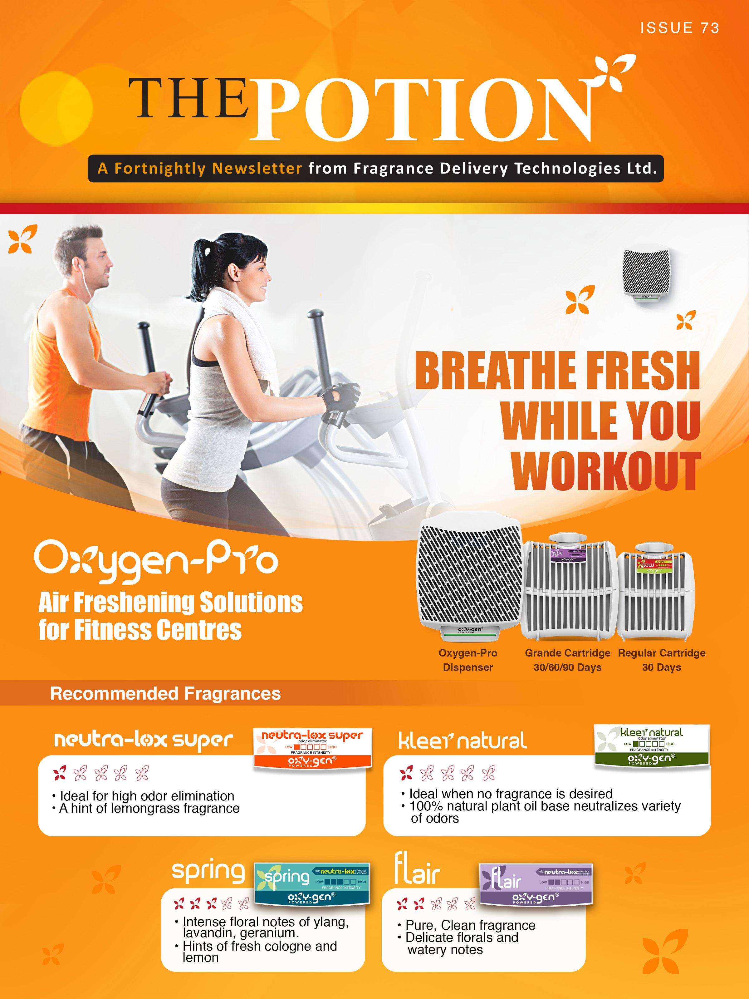 Fitness Special - The Potion Issue 73