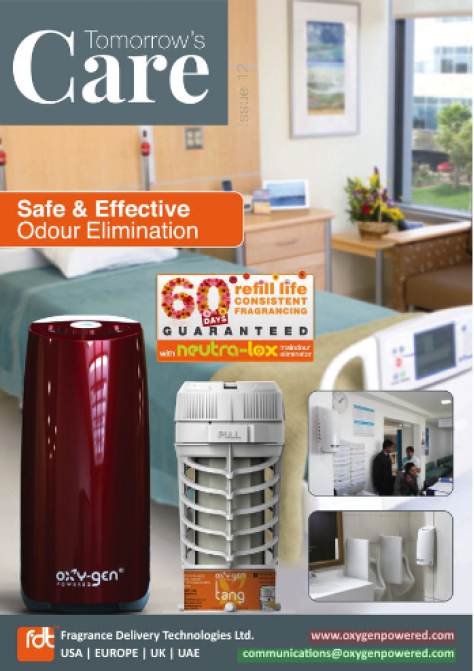 Safe Air Care solutions for hospitals, nursing homes and care homes.