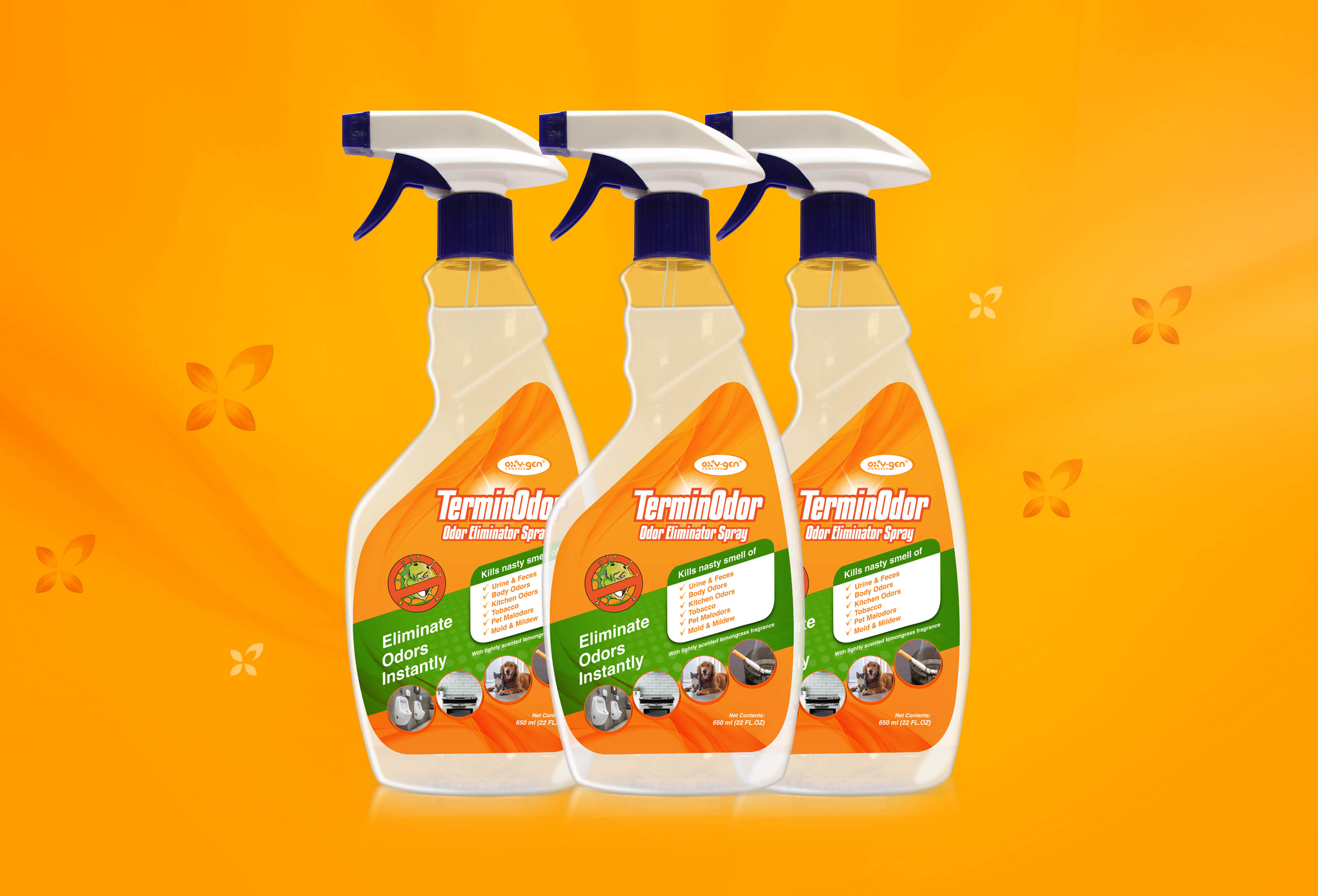 Attack Odors with New TerminOdor™ Spray from Oxy-Gen Powered